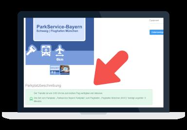 Transferdaten Parkscanner
